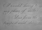 hart copperplate